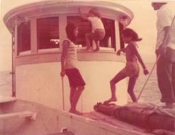 Kids Aboard Winnie Estelle